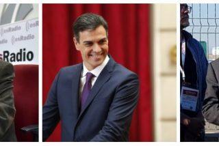 """Losantos contra la política migratoria de Sánchez: """"Va de 'Padre Ángel' y ha hecho el imbécil"""""""