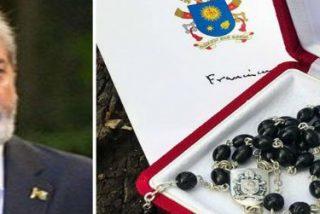 """Carta de Juan Grabois a Lula: """"El rosario venía de parte del Papa con su bendición"""""""