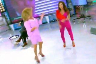 María Patiño y Lydia Lozano bailan 'El chuminero' como si no hubiera mañana