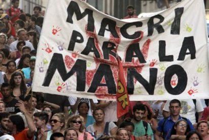 Miles de argentinos se manifiestan contra el gobierno de Macri