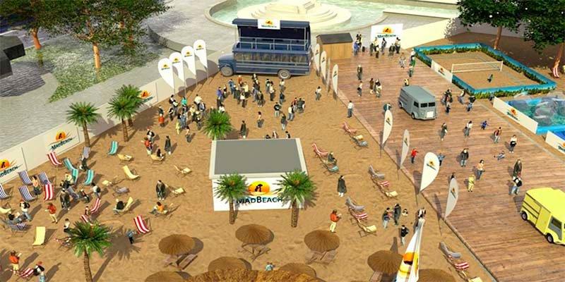 Carmena y los podemitas del Ayuntamiento encargan a dedo la playa de Madrid a una empresa trufada de embargos municipales