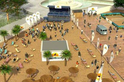 Vecinos y comerciantes de Madrid estallan contra la ocurrencia de Carmena de montar 'playa' en la Plaza de Colón