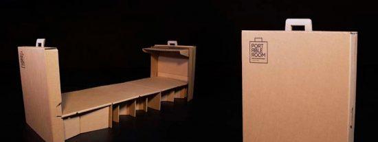 Un hotel portugués diseña una maleta 'mágica' para dormir en los aeropuertos