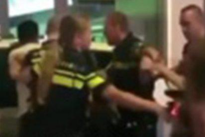 """Este video de """"policías rusos maltratando a una mujer en el Mundial"""" fue grabado en realidad en Holanda"""
