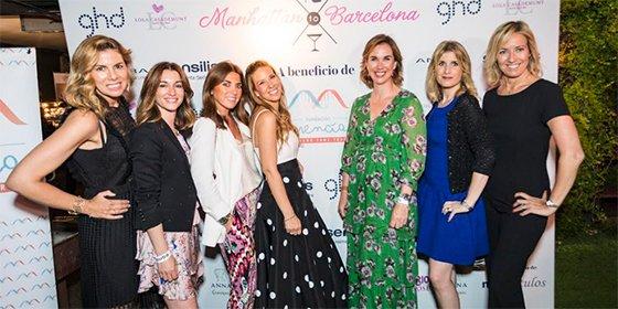 La impresionante fiesta solidaria Manhattan to Barcelona