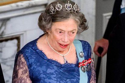 Muere la princesa Elisabeth; la reina Margarita de Dinamarca hundida