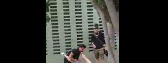 La paliza del vengativo marroquí a un policía de paisano ante su mujer e hijo pequeño en Vilaseca