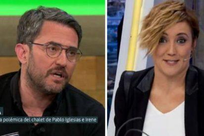 """Cristina Pardo en 'El Hormiguero': """"Màxim Huerta odia el deporte y se queja de que no liga"""""""