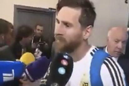 ¿Sabes qué se puso Messi bajo su media para marcar gol a Nigeria?