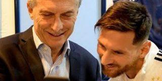¿Sabes qué le dijo Messi a Macri de cara al Mundial?