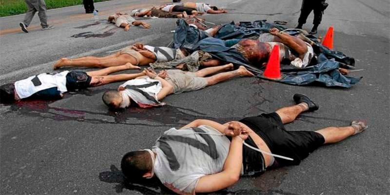 México bate un nuevo récord de asesinatos: 93 homicidios dolosos por día