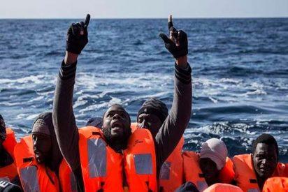Mueren ahogados más de un centenar de migrantes al naufragar su embarcación frente a Libia