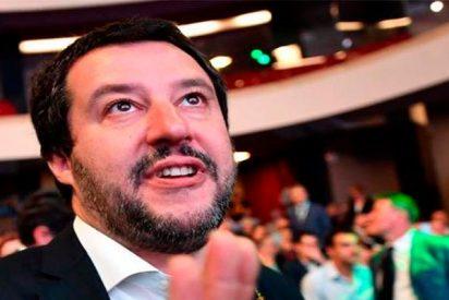 """Salvini manda un recado a Sánchez: """"Espero que ejercite su solidaridad en las próximas semanas"""""""