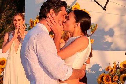 Mireia Canalda y Felipe López se dan el 'sí, quiero'