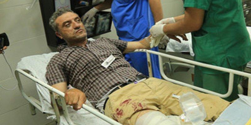 Este fotógrafo de AFP resulta herido por disparos de las fuerzas israelíes en Gaza