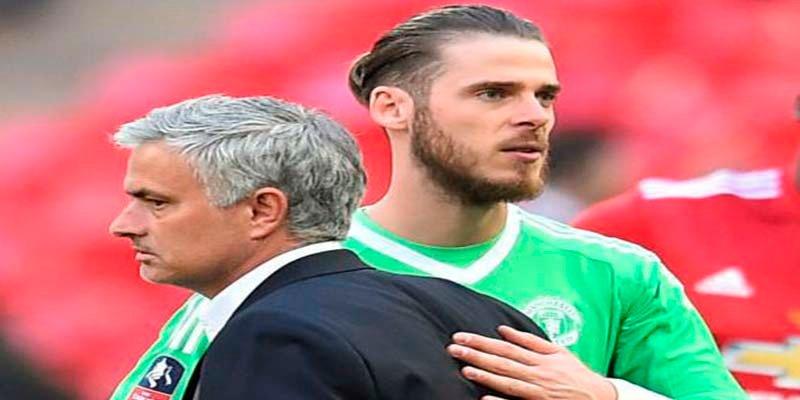 """Mourinho: """"David de Gea es mi chico, me duele decirlo pero él sabe que fue un mal error"""""""