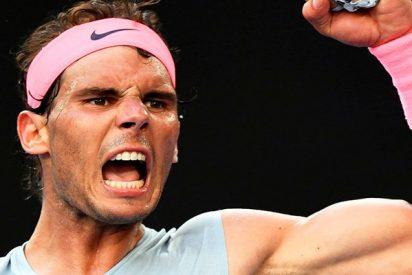 Rafa Nadal llegará al torneo de Wimbledon como número uno del mundo