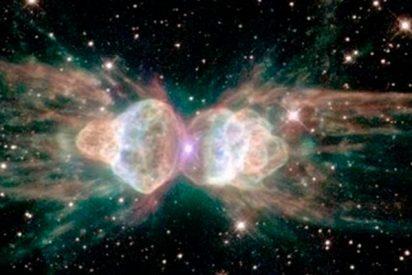 Descubren esta extraña nebulosa que 'dispara' láseres