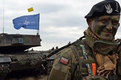 La OTAN realiza maniobras militares aéreas en Polonia