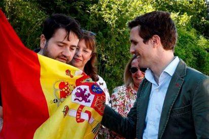 "Pablo Casado: ""Yo he venido a Alsasua a decir que viva la Guardia Civil"""