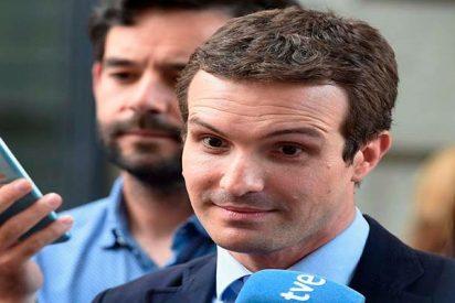 """Pablo Casado: """"Vamos independientes hasta el final y vamos a ganar"""""""