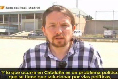 """El chupón Iglesias pide en la embriagada TV3 barra libre: """"No es sensato que haya presos políticos"""""""