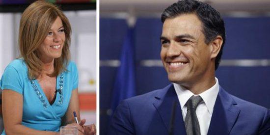 Palomera se sube ahora en marcha al carro de Pedro Sánchez como una 'groupie'