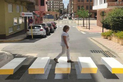 Estas son las dos primeras ciudades españolas con pasos de cebra 3D