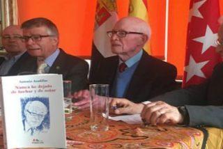 Homenaje a Antonio Aradillas en el Hogar extremeño de Madrid