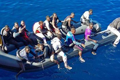 Los migrantes llegados a España estos 8 días en patera multiplican por cuatro a los del Aquarius