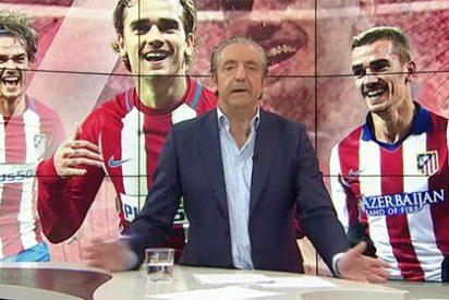 """Un periodista francés abochorna a Griezmann y Pedrerol lo remata: """"¿A qué juegas, Antoine?"""""""