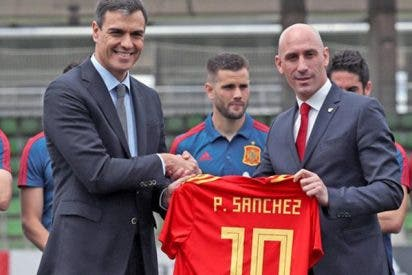 Pedro Sánchez; el número 10 de la selección española