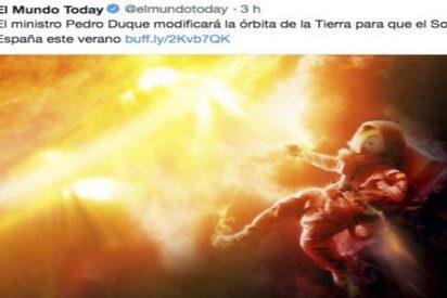 Pedro Duque responde así a esta noticia de 'El Mundo Today'