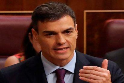 El socialista Pedro Sánchez se da de morros contra los jueces del Tribunal Supremo