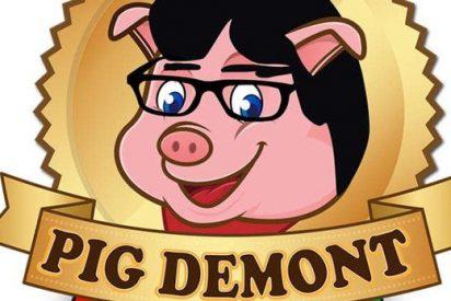 La empresa malagueña 'Pig Demont' que hace gruñir de rabia a Puigdemont por su 'cerdada'