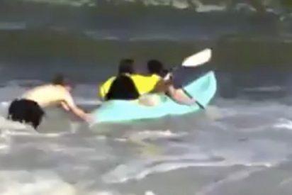 Quién dijo que ir a la playa era divertido