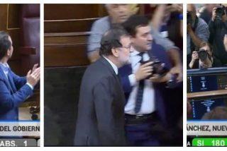 ¡Se consuma el desastre! Podemos, independentistas y proetarras tumban a Rajoy y hacen presidente a Sánchez