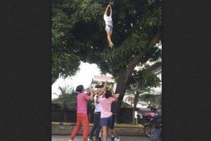 ¿Le apetece un mango del árbol? Pídaselo a este impresionante equipo de porristas filipinos