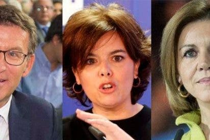 El futuro del PP: Presidente Núñez Feijóo, Soraya a la UE y Cospedal alcaldesa de Madrid