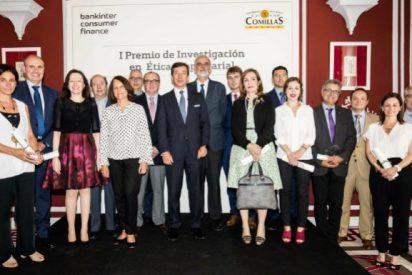Bankinter y Comillas entregan el I Premio de Investigación en Ética Empresarial