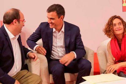 El socialista Pedro Sánchez premiará a Cataluña con más inversiones en detrimento de las otras 16 autonomías