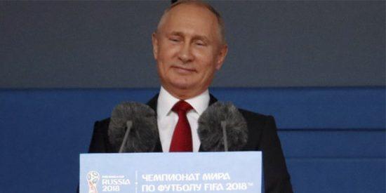 Cachondeo en las redes por el detalle de esta imagen de Putin
