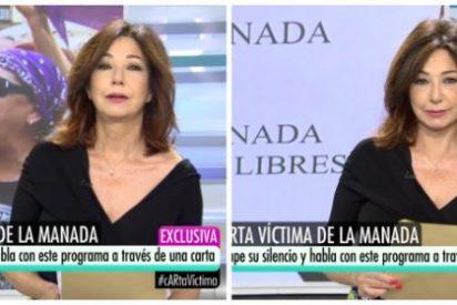 La impactante carta de la víctima de 'La Manada' deja a Ana Rosa al borde de las lágrimas