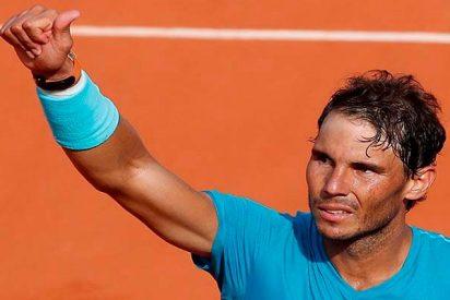 Roland Garros: Rafa Nadal tumba al gigante Del Potro y se planta en su undécima final