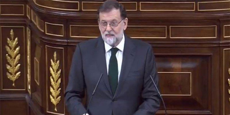 Mariano Rajoy admite la derrota con elegancia y felicita a Sánchez en su último discurso como Presidente