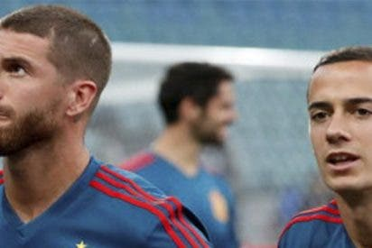 Cachondeo en las redes con el parecido razonable que Ramos le ha sacado a Lucas Vázquez