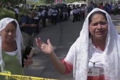 Religiosas rezan a Dios para que detenga la furia del Volcán de Fuego en Guatemala