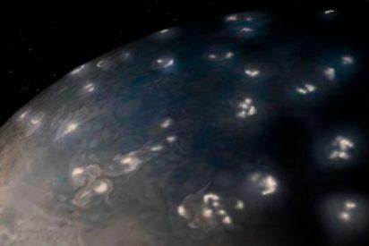 Resuelven el misterio de los relámpagos de Júpiter