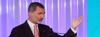 El Rey de España no puede dar unos premios en un restaurante porque los indepes no le dejan entrar en una sede oficial