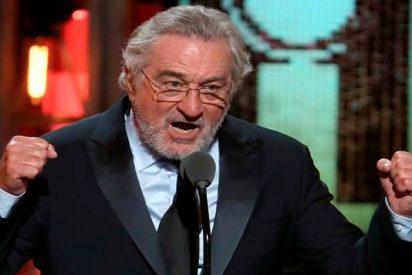 "Robert de Niro: ""Que se joda Trump"""